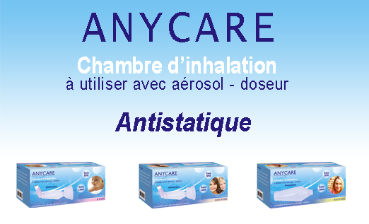 ANYCARE CHAMBRE D'INHALATION 0/9 MOIS